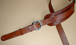 """Plain Model"" Leather Guitar Straps"