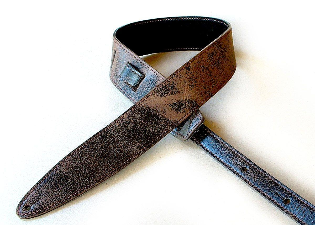 durango relic leather guitar strap el dorado leather guitar straps accessories. Black Bedroom Furniture Sets. Home Design Ideas