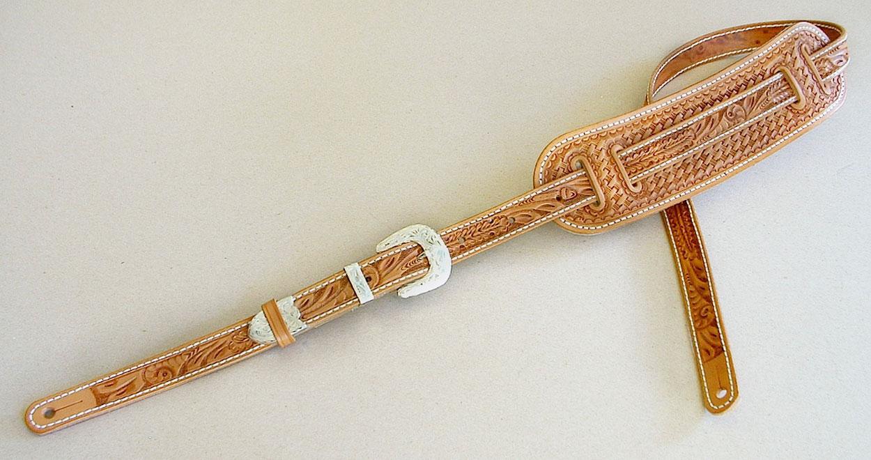 vintage model guitar strap el dorado leather guitar straps accessories. Black Bedroom Furniture Sets. Home Design Ideas