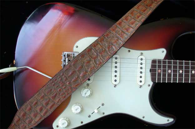 Gator Model Leather Guitar Strap 171 El Dorado Leather