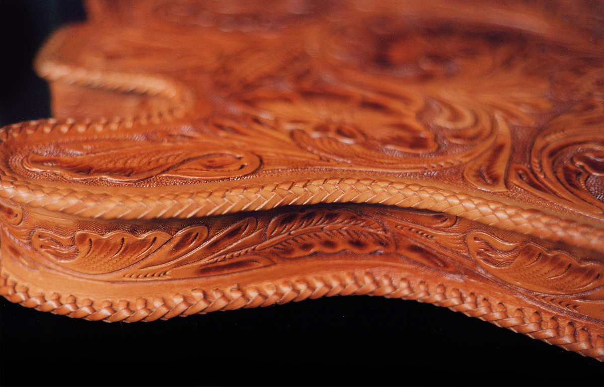 Hand Tooled Leather Quot Tele Quot Body